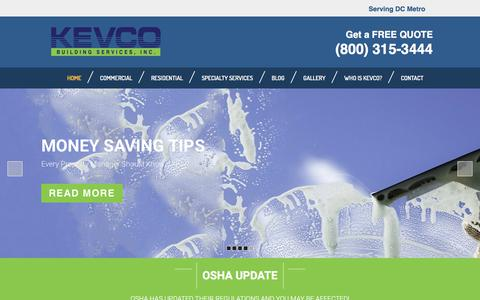 Commercial Building Services | Pressure Washing, Window Cleaning, Garage Cleaning | DC, MD, VA