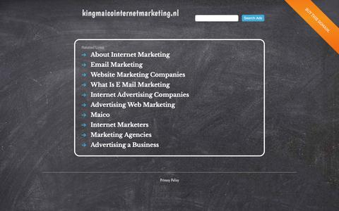 kingmaicointernetmarketing.nl