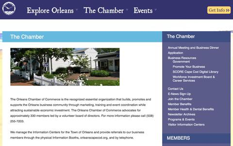 Screenshot of Team Page orleanscapecod.org - The Orleans Chamber of Commerce, Cape Cod, Massachusetts - captured Oct. 23, 2017