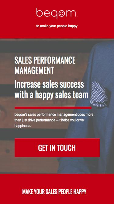 beqom | Sales Performance Management Software