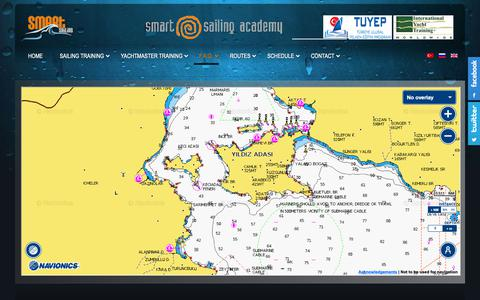 Screenshot of Maps & Directions Page smartsailing.org - Map | Smartsailing Yelken Okulu ve Yelken Eğitimi - captured Oct. 18, 2018