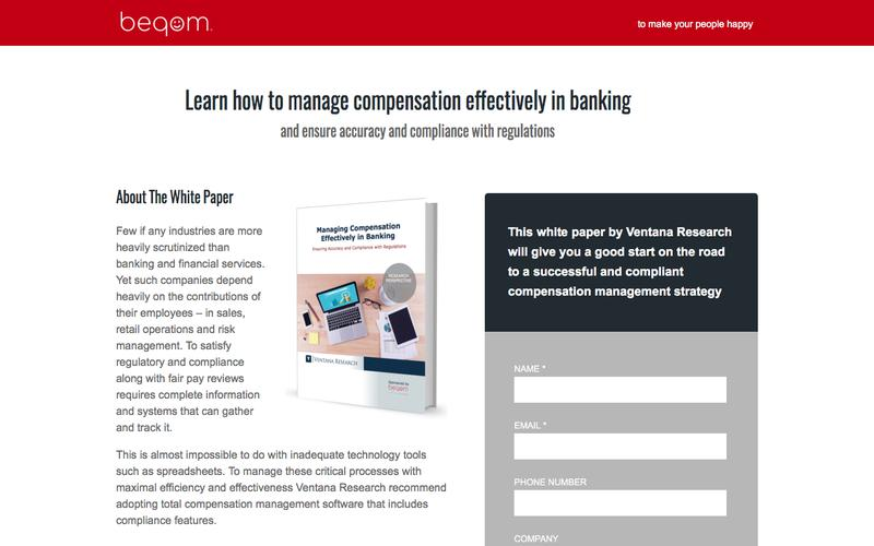 White paper | Manage compensation effectively in banking