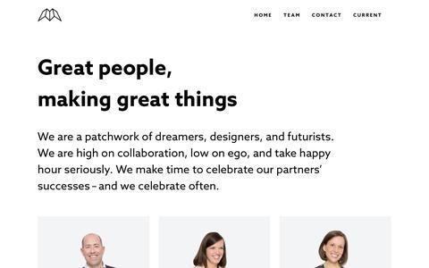 Screenshot of Team Page innovatemap.com - Team – Innovatemap - captured April 3, 2018