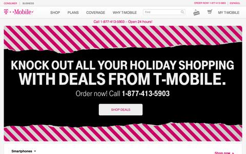 Cell Phones | 4G Phones | iPhone and Android Phones | T-Mobile
