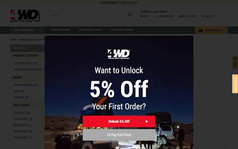 Jeep Replacement Liftgate Parts | FREE Shipping at 4WD.com