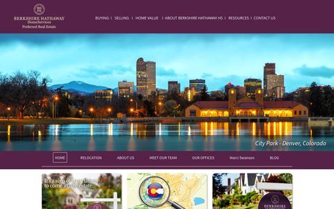 Screenshot of Home Page bhhspre.com - Home - captured Feb. 1, 2016