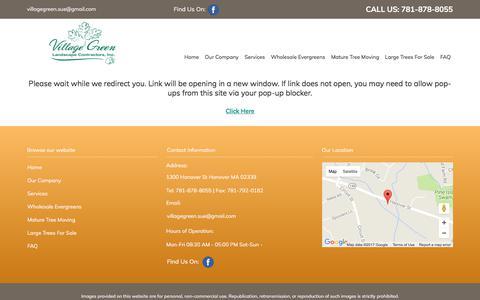 Screenshot of Blog villagegreenlandscapeinc.com - Landscaping Company, Lawn Maintenance | Hanover, MA - captured Oct. 21, 2017