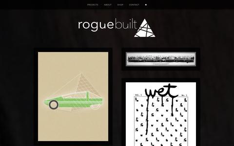 Screenshot of Blog roguebuilt.co - ✙ | roguebuilt - captured Jan. 11, 2016