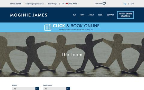 Screenshot of Team Page moginiejames.co.uk - Moginie James staff list - captured Oct. 19, 2018
