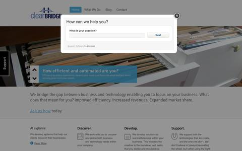 Clearbridge | Bridging the gap between your business and technology