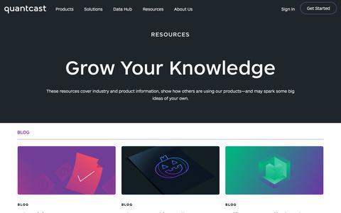 Quantcast Resources | Quantcast