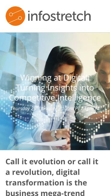 Winning at Digital: Turning Insights into Competitive Intelligence