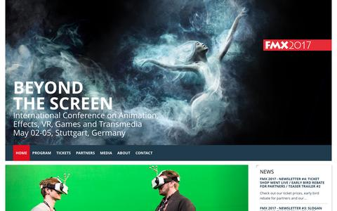 """FMX: FMX 2017 goes """"Beyond the Screen"""" + Brand-new Teaser Trailer"""