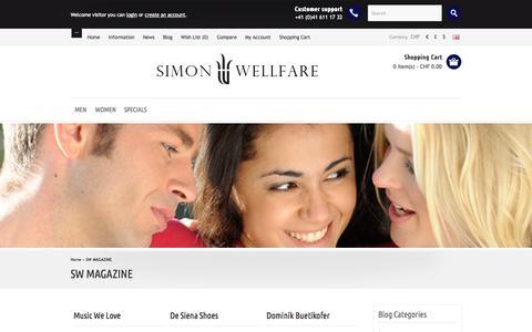 Screenshot of Blog simonwellfare.com captured Oct. 26, 2014