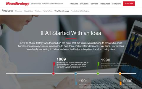 Why MicroStrategy? Scalable, Easy-to-Use, Powerful | MicroStrategy