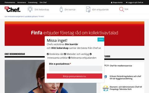 Chef.se – Störst i Sverige på ledarskap