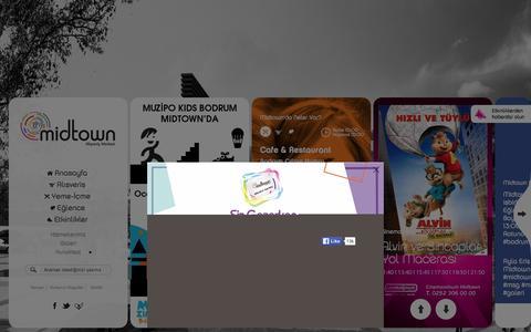 Screenshot of Home Page midtown.com.tr - Midtown Alışveriş Merkezi - captured Jan. 9, 2016