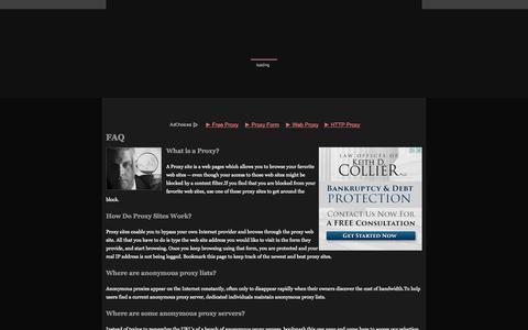 Screenshot of FAQ Page site-proxy.net - Site-proxy.net.com - Proxy Site (FAQ) - captured Nov. 3, 2014