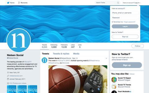 Nielsen Social (@NielsenSocial) | Twitter