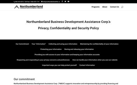 Screenshot of Privacy Page financingandstrategy.com - Privacy Policy | Financing and Strategy for Entrepreneurs - captured Dec. 27, 2016