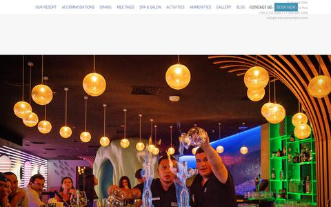 Screenshot of Contact Page crocscasinoresort.com - CONTACT US - Luxury Beach Front Hotel in Jacó Beach Costa Rica | Croc's Casino Resort - captured July 23, 2018