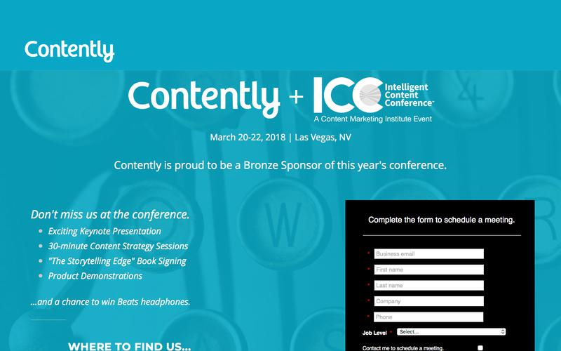Contently   ICC 2018