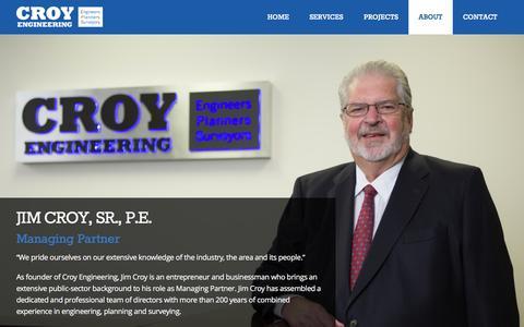 Screenshot of Team Page croyengineering.com - Team - Croy Engineering - captured Dec. 13, 2015