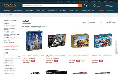 Lego Singapore - Buy Lego Toys, Lego City, Lego Games | Lazada.sg
