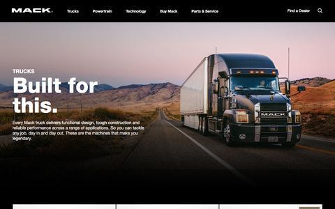 Semi Truck Models | Mack Trucks