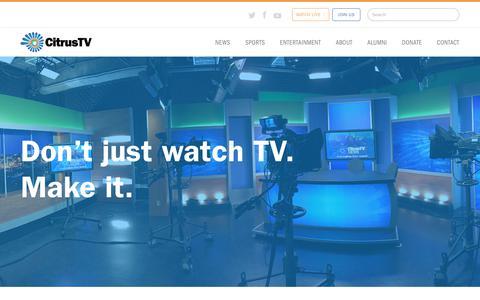 Screenshot of Signup Page citrustv.com - Join | CitrusTV - captured July 7, 2018