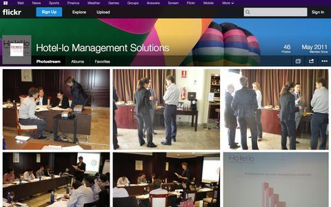 Screenshot of Flickr Page flickr.com - Flickr: Hotel-lo Management Solutions' Photostream - captured Oct. 23, 2014