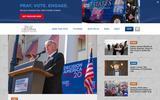 New Screenshot Billy Graham Evangelistic Association Home Page