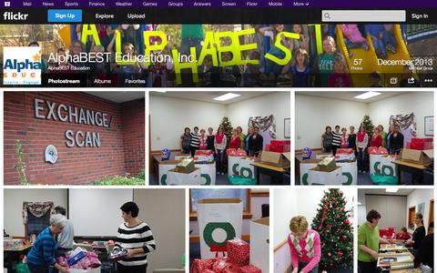 Screenshot of Flickr Page flickr.com - Flickr: AlphaBEST Education's Photostream - captured Oct. 23, 2014
