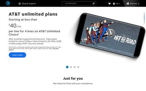 AT&T Deals, Promotions & Offers - Shop & Save Now