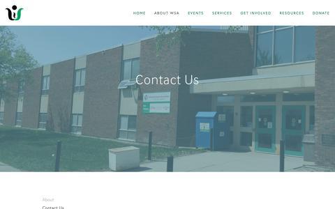 Screenshot of Contact Page winnifredstewart.com - Contact Us — Winnifred Stewart Association - captured Dec. 21, 2018