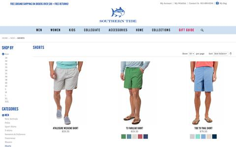 Men's Shorts by Southern Tide