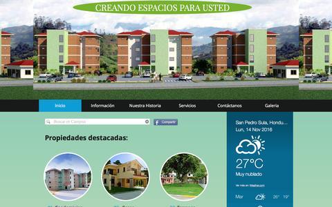 Screenshot of Home Page campisa.com - campisa - captured Nov. 14, 2016