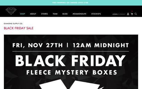 Screenshot of Blog Press Page diamondsupplyco.com - Diamond Supply Co. - captured Nov. 30, 2015