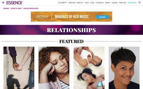 Relationships | Essence.com