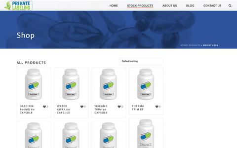Weight Loss Archives - Private Label Supplements and Vitamins