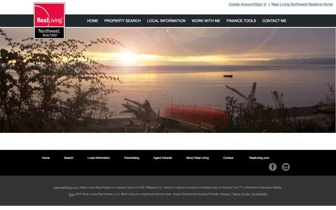 Screenshot of Jobs Page realliving.com - Cheryl Steffen - Your Island Agent - Anderson Island Living | Real Living Real Estate - captured Dec. 6, 2016