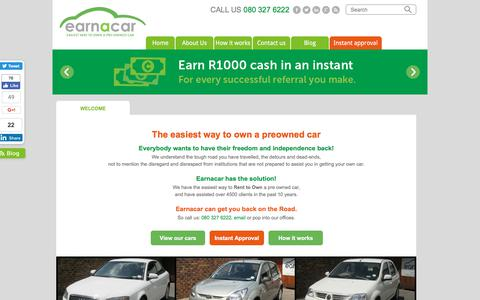 Earn a Car | easiest way to own a pre-owned car