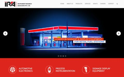 Screenshot of Home Page irapl.com captured Nov. 26, 2016