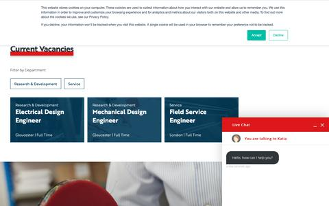 Screenshot of Jobs Page dutypoint.com - Careers - captured Jan. 30, 2019