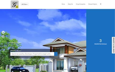 Screenshot of Home Page gtekelectro.com - Gtek Electromechanics Co. , Residential flats / apartments in Mumbai, Commercial Properties in Mumbai, Brokers in Mumbai - captured Feb. 2, 2016