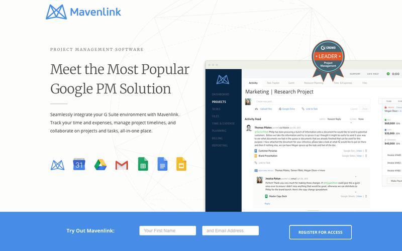 Google Apps Project Management | Mavenlink