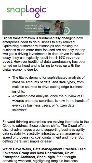 [Webcast] How digital enterprises are scaling their data to infinity and beyond in the Cloud
