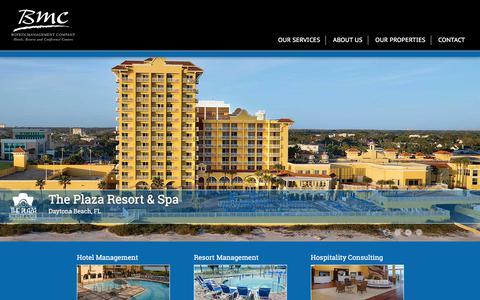 Screenshot of Home Page boykin.com - Hotel Management Company | Boykin Management ... - captured Sept. 22, 2018