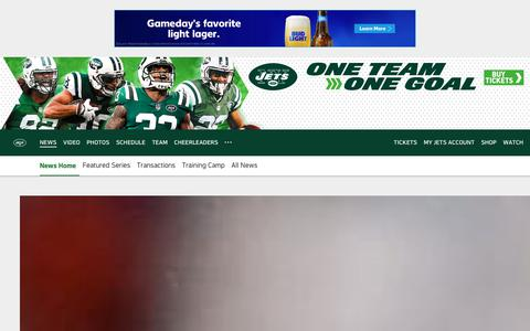 Screenshot of Press Page newyorkjets.com - New York Jets   News - captured Sept. 24, 2018