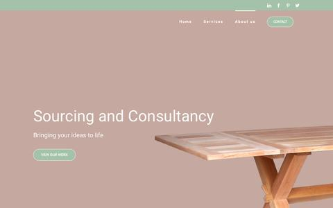 Screenshot of About Page cantik-designfurniture.com - About us - Cantik-DesignFurniture - captured Nov. 4, 2018